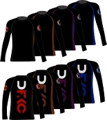 IBJJF APPROVED MEN'S RANKED RASHGUARD  Long Sleeve
