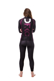 IBJJF Approved Women's Ranked Rashguard Long Sleeve
