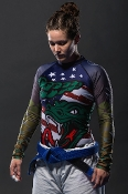 D-TOM RASH GUARD WMN